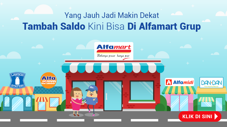 Top Up Saldo di Gerai Alfamart Terdekat