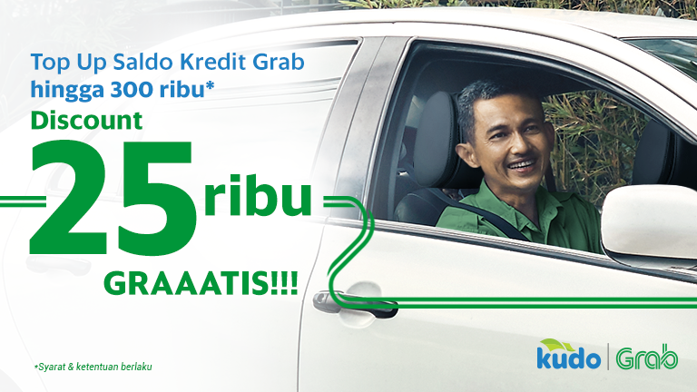 Promo top up saldo kredit Grab